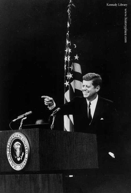 "John Fitzgerald ""Jack"" Kennedy (35th President of the United States: 1960-63) (May 29, 1917 – November 22, 1963)"