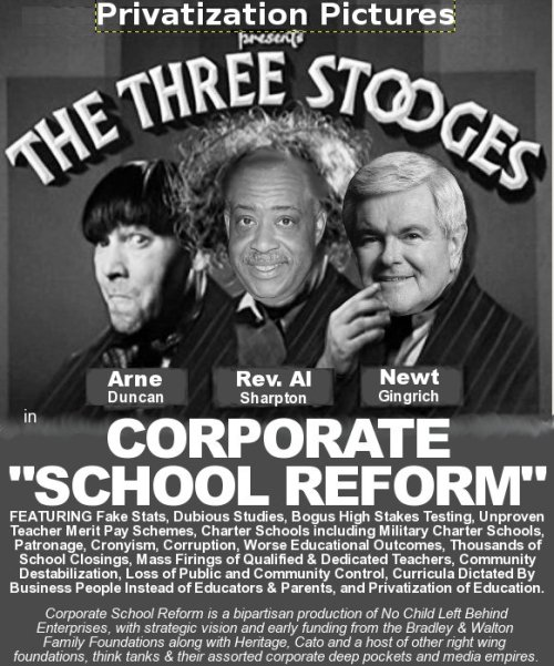 The Three Education Stooges