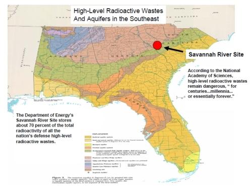 High-level radio active waste