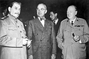 Stalin, Truman and Churchill